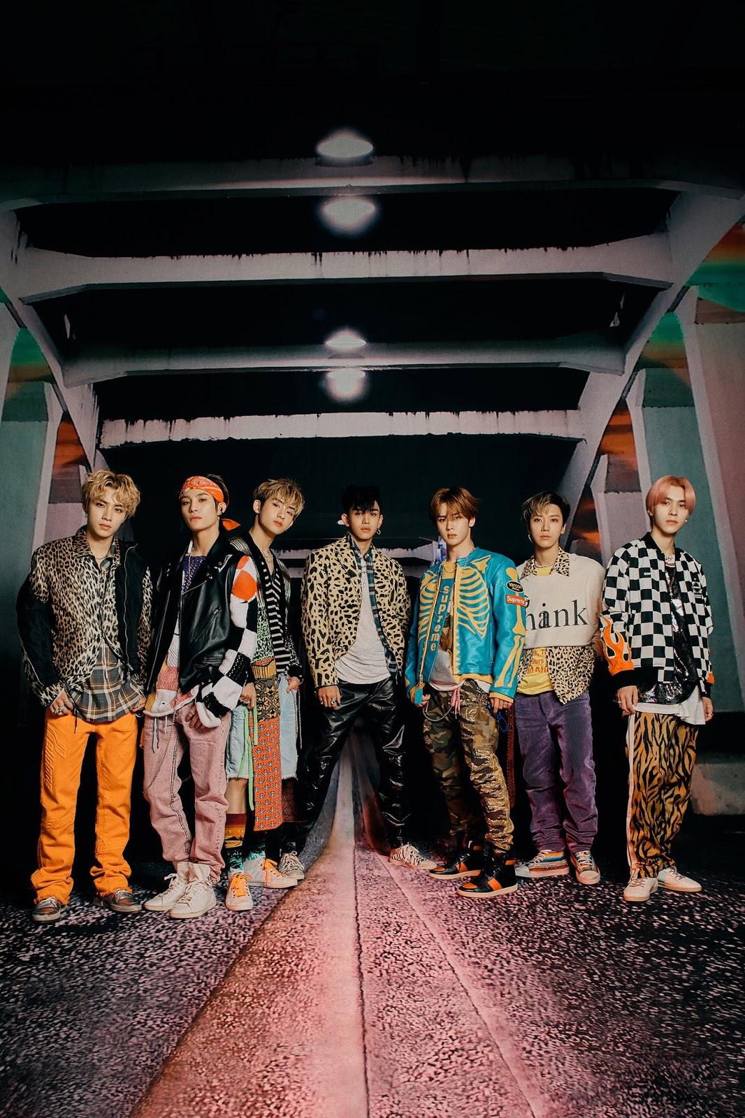 WayV Kick Back Grunge, Courtesy of SM Entertainment