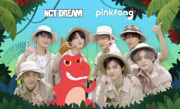 NCT Dream Pinkfong header