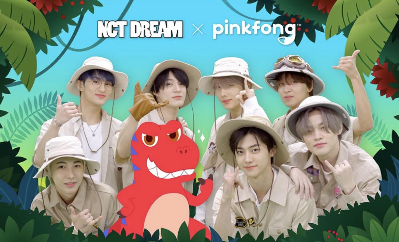NCT Dream Pinkfong header
