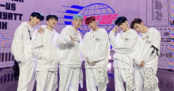 ONF in white outfits, Ugly Dance