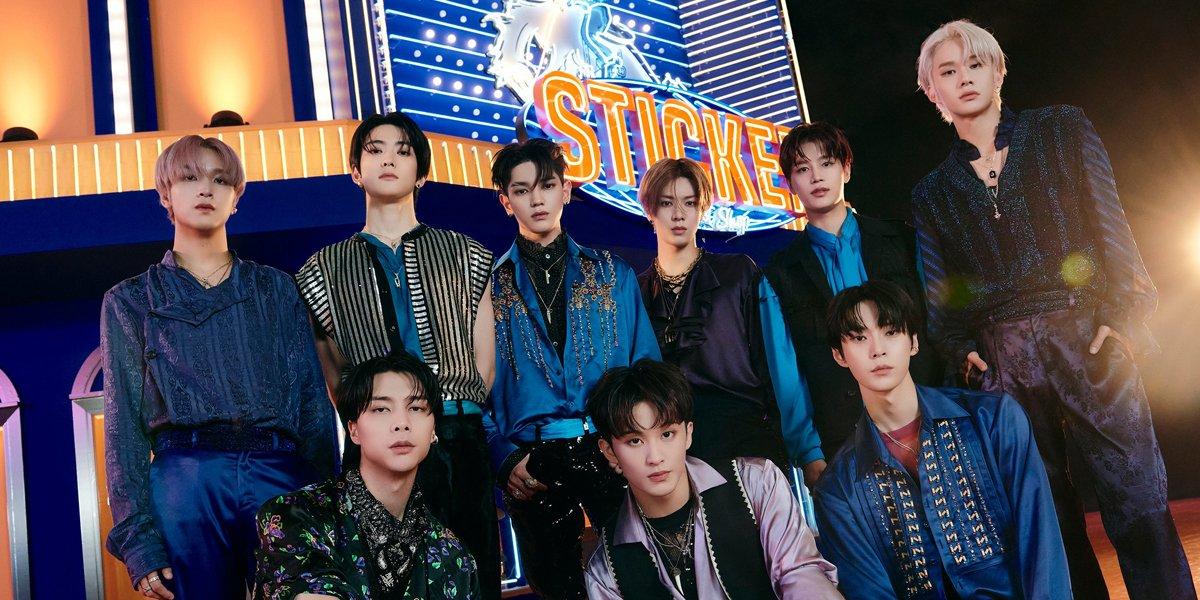 picture of NCT 127 for comeback showcase Sticker